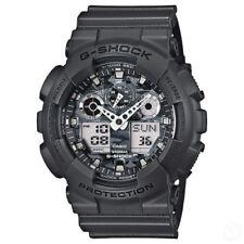 Casio G-Shock Analogue/Digital Mens Camouflage Series Black Watch GA-100CF-8ADR