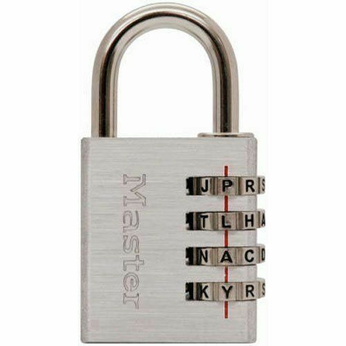 Master Lock 643DWD Master Lock Set Your Own Password Combo Lock