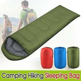 4 Season Waterproof Camping Hiking Single Sleeping Bag With Carry Bag