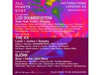 2 x All Points East 3 day tickets