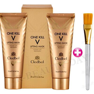 1+1 CLEDBEL Power Lift Program One Kill V Lifting 24K Gold Lifting Mask 70ml
