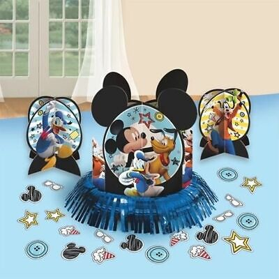 Mickey Mouse Birthday Table Decoration Kit Birthday Party Supplies ~ Centerpiece - Mickey Mouse Centerpieces