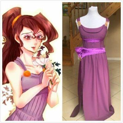 Princess Megara inspired dress MADE TO MEASURE Cosplay Costume Dress - Megara Costumes