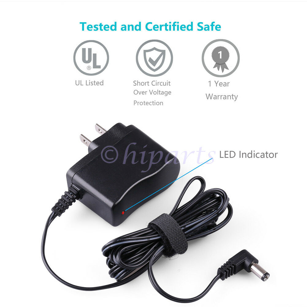 dc power adapter charge cord