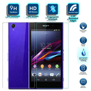 Front + Back Tempered Glass Screen Protector For Sony Xperia Z2 Regina Regina Area image 1
