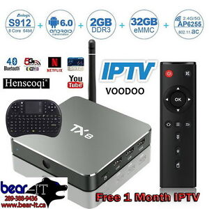 Android 6 Smart TV Media Player TX8 2G/32G BT WiFi 8-Core