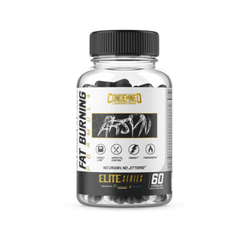 * ARSYN by Condemned Labz * Fat Burner / Energy / Focus 60 Caps *Free Shipping*