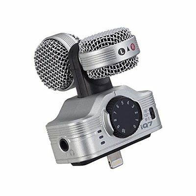 ZOOM iQ7 MS Stereo Microphone for iPhone/iPad/iPod come to earth a detonate