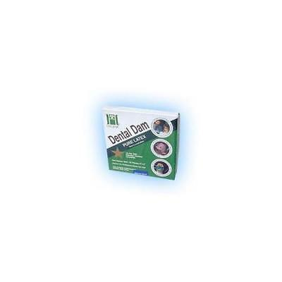 Coltene Whaledent Inc. H02142 Dental Dam 5x5 Medium Green 52bx