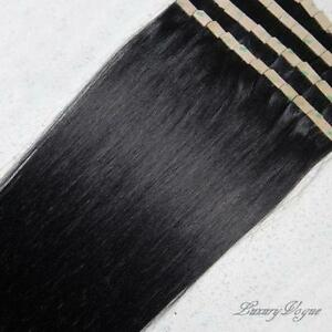 Tape hair extensions ebay black tape hair extensions pmusecretfo Image collections