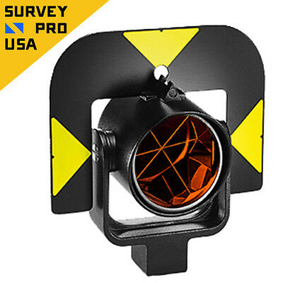New Leica Style Gpr121 Circular Total Station Prism Reflector With Holder