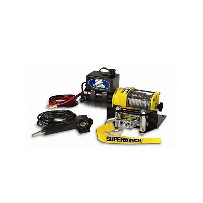 Superwinch Portable Utility Winch Car Rock Climb Kit Rope Pull Turn Mounting ATV