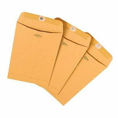 Office Depot Envelopes 6 X 9 Manila Heavyweight Kraft Paper Long-life Claps