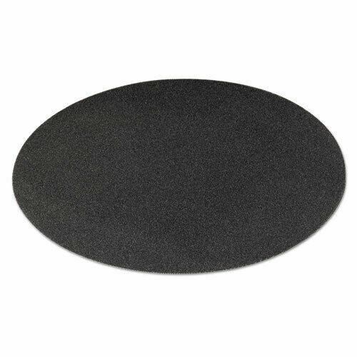 "Boardwalk 50208010 Sanding Screens, 20"" Diameter, 80 Grit, Black, 10/Carton"