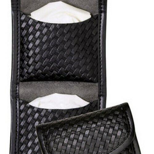 Bianchi 22962 Black 7928 Basketweave Accumold Elite Flat Glove Holder Pouch
