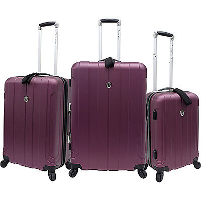 Traveler's Choice Cambridge 3 Piece Hardshell Spinner on Rummage