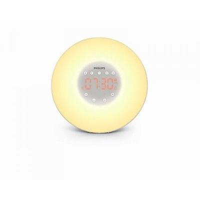 PHILIPS HF3505/01 WAKE-UP-LIGHT LICHTWECKER RADIOWECKER WECKER SONNENAUFGANG NEU