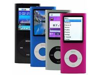 New Slim 4th Gen 16GB MP3 MP4 Music Player with FM Radio Video Movie Games TFT Screen: