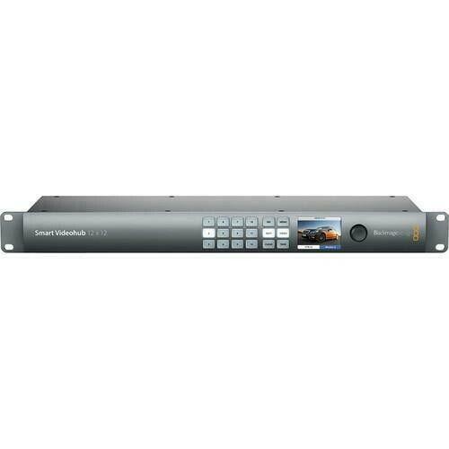 Blackmagic Design Smart Videohub 12x12 6G-SDI Routing Switcher (mint)