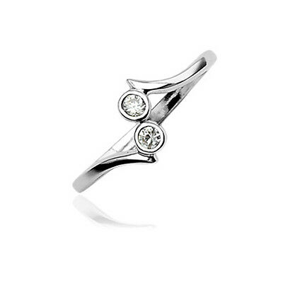 925 Sterling Silver Toe Ring Toe Rings Two Stone
