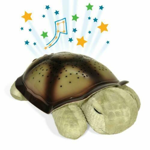 PLUSH TWILIGHT TURTLE MULTI COLORED NIGHT LIGHT STAR PROJECTOR