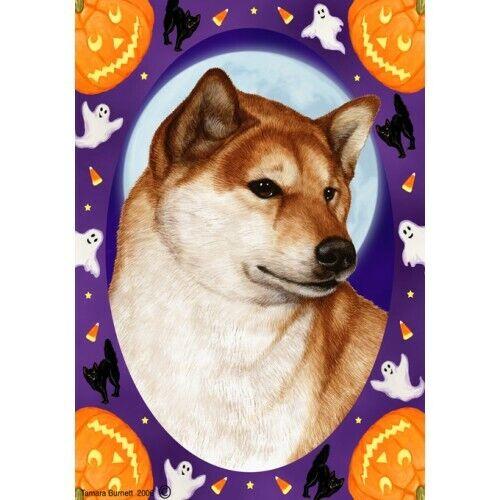 Halloween Garden Flag - Shiba Inu 123251