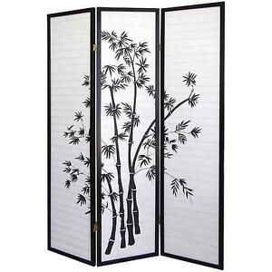 Room Divider Screens Curtains and Bamboo eBay