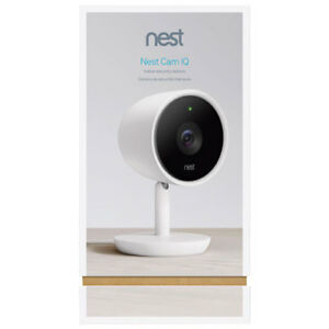 Nest Cam IQ Wi-Fi Indoor-out of box Brand new Warranty Included