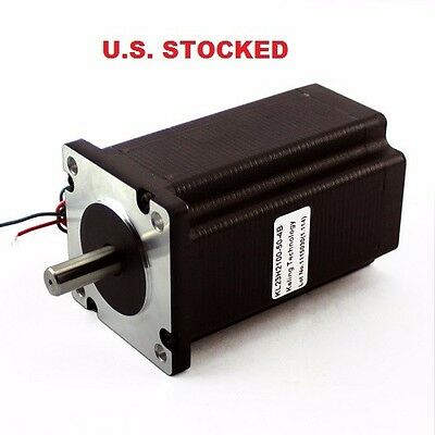 4 Pcs Dual Shaft 38 Shaft Stepper Motor Nema23 570ozin 5a