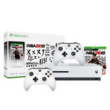 Xbox One S 1Tb NBA 2K19 Bundle + Extra Xbox White Wireless Controller
