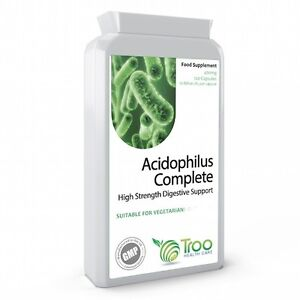 Acidophilus 10 Billion CFU 120 Capsules - Lactobacillus Acidophilus Probiotics