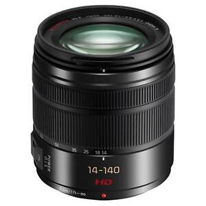 NEW Panasonic Lumix G Vario 14-140mm f/3.5-5.6 ASPH. O.I.S. Lens IN WHITEBOX UK