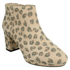 Leather Women's Animal Print Leopard