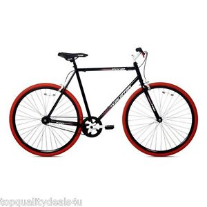 Men 700C Fixie Urban Road Race Track Light Bike Fixed Gear Single Speed Bicycle