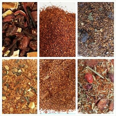 Rooibos Tea Organic loose leaf choice flavors, quanity, tea