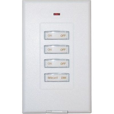 X10 Wall Style-Switch 3 Unit + Dimmer SS13-A ===> New-No-Box ~ w/Fresh Battery