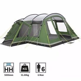 OUTWELL MONTANA 6 TENT - ALMOST NEW £275!!