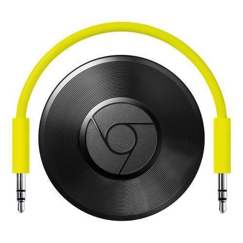 Google Chromecast Audio Media Streamer   Black   Brand New