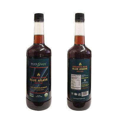 (6 pack, Raw Organic Agave Nectar, 47.6 Oz, 1.41 Liter bottles)