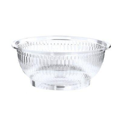 300 glasklare Salatschalen PET rund 1 l Ø 18 cm 7,5 cm Einwegschalen