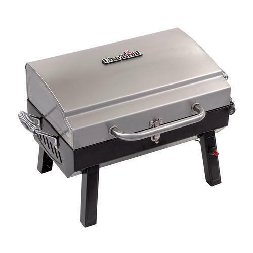 """24"""" Stainless Steel Potable 1 Burner Tabletop Propane Gas Grill Outdoor Cooking"""