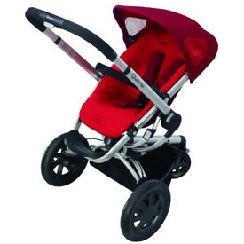 Quinny Buzz Pushchair. Red