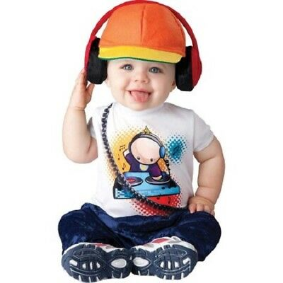 Dj Rapper Kostüm (Baby Beats Infant-Toddler DJ Rapper Halloween Costume 6-12 Months #6841)