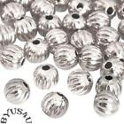 Metal Round Spacer Beads