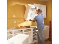 Kitchen fitting, flatpack, furniture assembly 1