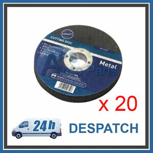 20-x-New-Metal-Cutting-Discs-3mm-Thick-22-2m-Bore-4-1-2-115mm-Professional