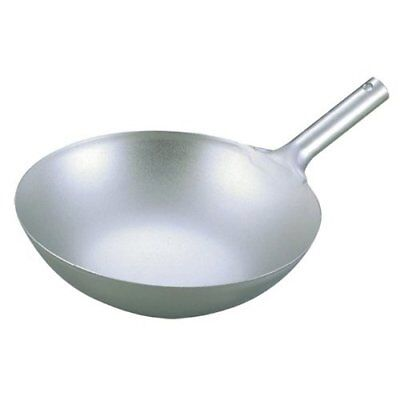 EBM Pure Titanium Wok Light Weight Chinese Single Handle Pan 36cm Japan new .