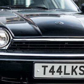 Registration plate T44 LKS Personalised Cherished
