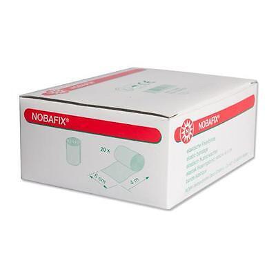 20x Nobafix elastische Fixierbinde unsteril 6cm x 4m Mullbinden Verbandmaterial