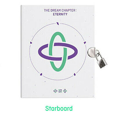 TXT THE DREAM CHAPTER:ETERNITY Album STARBOARD CD+POSTER+PhotoBook+Sticker+3Card
